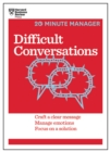Difficult Conversations (HBR 20-Minute Manager Series) - eBook