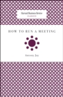 How to Run a Meeting - eBook