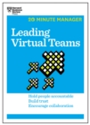 Leading Virtual Teams (HBR 20-Minute Manager Series) - eBook