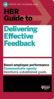 HBR Guide to Delivering Effective Feedback (HBR Guide Series) - Book