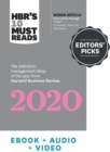 HBR's Editors' Picks 2020 : Our Definitive Articles, Podcasts, and Videos of the Year - eBook