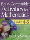 Brain-Compatible Activities for Mathematics, Grades 4-5 - eBook