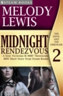 Midnight Rendezvous - A Sexy Victorian Bi MMF Threesome BBW Short Story from Steam Books - eBook
