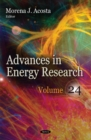 Advances in Energy Research : Volume 24 - Book
