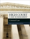 High Court Summaries on Criminal Law (Keyed to Kaplan) - eBook