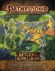 Pathfinder Campaign Setting: Return of the Runelords Poster Map Folio - Book