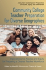 Community College Teacher Preparation for Diverse Geographies - eBook