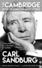 CARL SANDBURG - The Cambridge Book of Essential Quotations - eBook