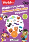 Halloween Puffy Sticker Playscenes - Book