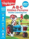 ABC Hidden Pictures Sticker Learning Fun - Book