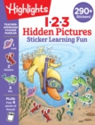 123 Hidden Pictures Sticker Learning Fun - Book