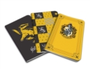 Harry Potter: Hufflepuff Pocket Notebook Collection : Set of 3 - Book