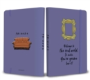 Friends: Yellow Frame Softcover Notebook - Book