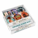 Harry Potter: Exploring Diagon Alley Glass Magnet Set : Set of 6 - Book