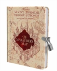 Harry Potter: Marauder's Map Lock and Key Diary - Book