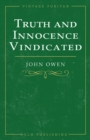 Truth and Innocence Vindicated - eBook