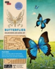 IncrediBuilds: Butterflies Deluxe Book and Model Set - Book
