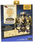 IncrediBuilds: World of Warcraft: Alliance 3D Wood Model and Poster - Book