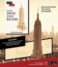 IncrediBuilds: New York: Empire State Building 3D Wood Model - Book