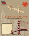 IncrediBuilds Monument Collection: Golden Gate Bridge - Book
