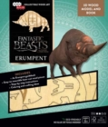 IncrediBuilds: Fantastic Beasts and Where to Find Them : Erumpent Book and 3D Wood Model - Book