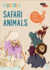 IncrediBuilds Jr.: Stackables: Safari Animals - Book