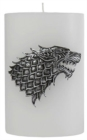 Game of Thrones House Stark Sculpted Insignia Candle - Book