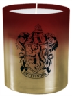 Harry Potter: Gryffindor Large Glass Candle - Book