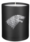 Game of Thrones: House Stark Large Glass Candle - Book