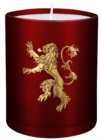 Game of Thrones: House Lannister Large Glass Candle - Book