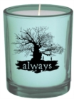 Harry Potter: Always Glass Votive Candle - Book