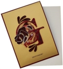 Harry Potter: Gryffindor Crest Quilled Card - Book