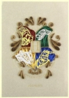 Harry Potter: Hogwarts Crest Quilled Card - Book