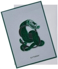 Harry Potter: Slytherin Crest Quilled Card - Book