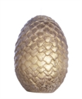 Game of Thrones Sculpted Dragon Egg Candle : Gold - Book
