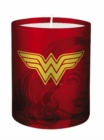 DC Comics: Wonder Woman Glass Votive Candle - Book
