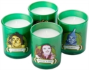 The Wizard of Oz Glass Votive Candle Set : Set of 4 - Book