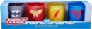 DC Comics: Justice League Glass Votive Candle Set : Set of 4 - Book