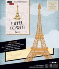 IncrediBuilds: Paris: Eiffel Tower Book and 3D Wood Model - Book