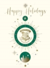 Harry Potter: Hogwarts Crest Holiday Embellished Card - Book