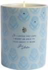 Jane Austen: If I Loved You Less Scented Candle (8.5 oz.) - Book