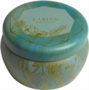 Self-Care Scented Tin Candle (3oz.) - Book
