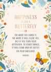 Butterfly Signature Pop-Up Card [All Occasion] - Book