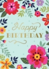 Floral Signature Pop-Up Card [Birthday] - Book