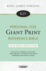 KJV Personal Size Giant Print Reference Bible : Deluxe Genuine Cowhide Edition - Book