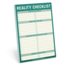Knock Knock Reality Checklist Pad - Book