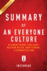 Summary of An Everyone Culture : by Robert Kegan and Lisa Lahey, with Matthew Miller, Andy Fleming, Deborah Helsing | Includes Analysis - eBook