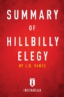 Summary of Hillbilly Elegy : by J.D. Vance | Includes Analysis - eBook