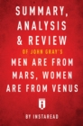 Summary, Analysis & Review of John Gray's Men Are from Mars, Women Are from Venus by Instaread - eBook