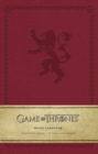 Game of Thrones: House Lannister Ruled Pocket Journal - Book